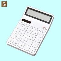 KACO LEMO آلة حاسبة سطح المكتب كهروضوئي مزدوج للغوص 12 عدد عرض إيقاف ذكي للمدرسة مكتب المنزل