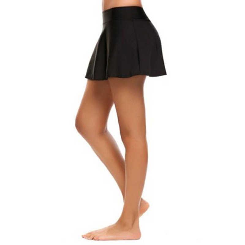 女性のテニススポーツハイウエストプリーツファッションスカートバドミントンバレーボールランニング応援ビーチ新スタイル通気性スカート