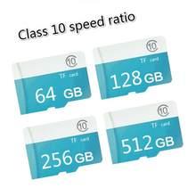 Cartão de memória de alta velocidade 1gb/2gb/4gb/8gb/16gb/32gb/64gb/128gb/256gb/512gb micro tf cartão neutro memória de alta Qualidade