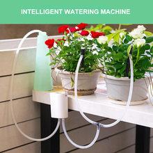 Inteligentna maszyna do podlewania automatyczne nawadnianie zegar rośliny System wodny narzędzie do nawadniania dla Home Office rośliny doniczkowe tanie tanio Intelligent Watering Z tworzywa sztucznego