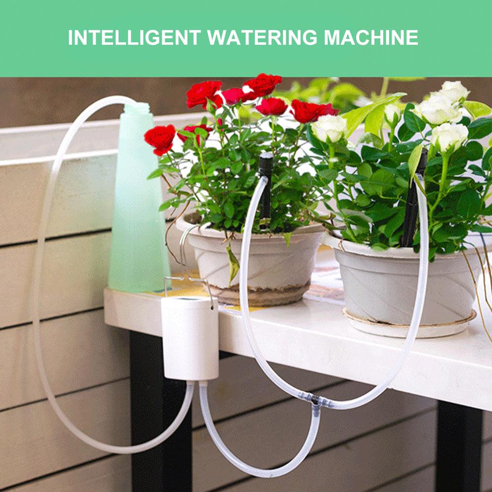 Умная Система полива растений, автоматический прибор для полива растений в горшках, с таймером, для дома и офиса