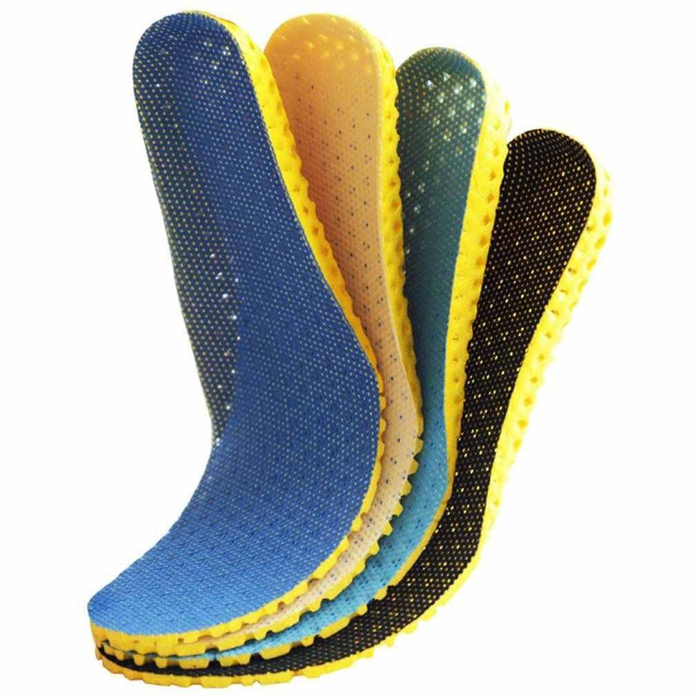 1 par grosso sapato palmilha ortopédica palmilhas palmilhas de espuma de memória ortopédica esporte arco suporte inserção almofada mulher homem quente
