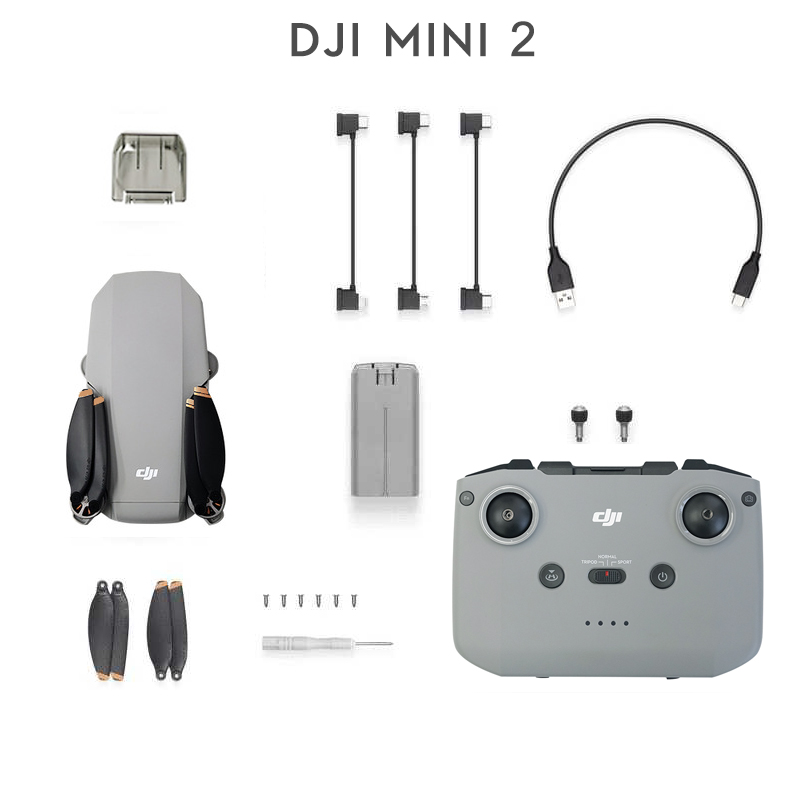 DJI Mini 2 Drone with 4K/30fps camera and 4x zoom 10km Transmission Distance mavic mini 2 brand new original in stock 1