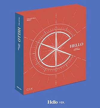 [MYKPOP]~100% OFFICIAL ORIGINAL~  CIX 1st EP: HELLO Chapter 1. Hello, Stranger KPOP Fans Collection - SA19101102