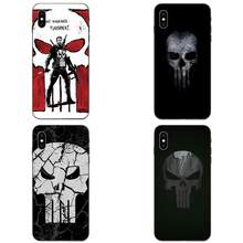 Zachte Live Liefde Telefoon Punisher Skull Marvel Comic Hero Voor Apple iPhone 4 4S 5 5S SE 6 6S 7 8 11 Plus X XS Max XR Pro Max(China)