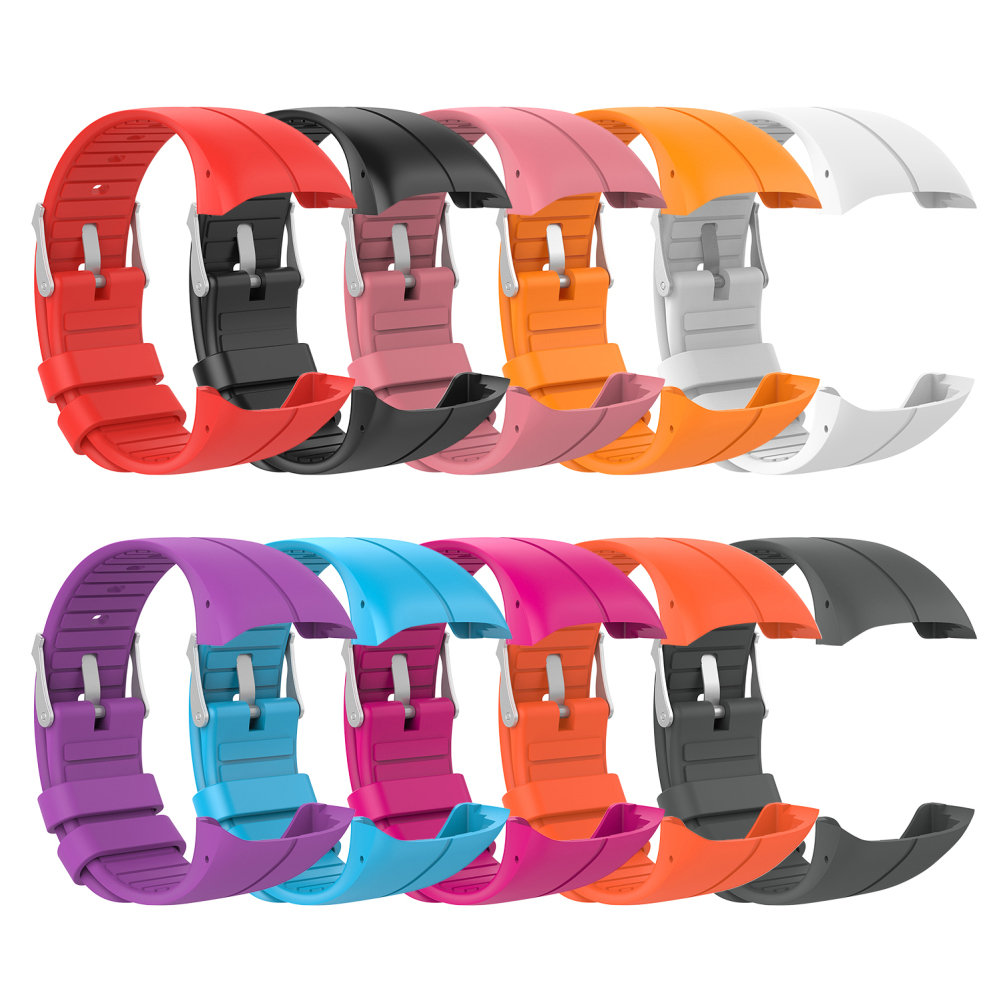 For POLAR M400/M430 Official With The Same Paragraph Solid Color Silicone Strap Breathable Replacement Wristba