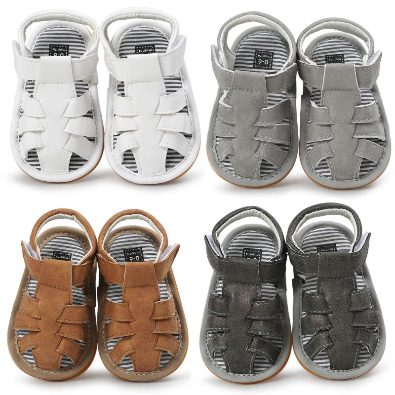 2020 Newborn Infant Outdoor Anti-slip Soft Sole Toddler Fashion Comfortable Shoes For Summer Baby Girl Boy Casual Sandals