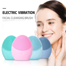 Face-Cleansing-Brush Deep-Washing Electric Silicone