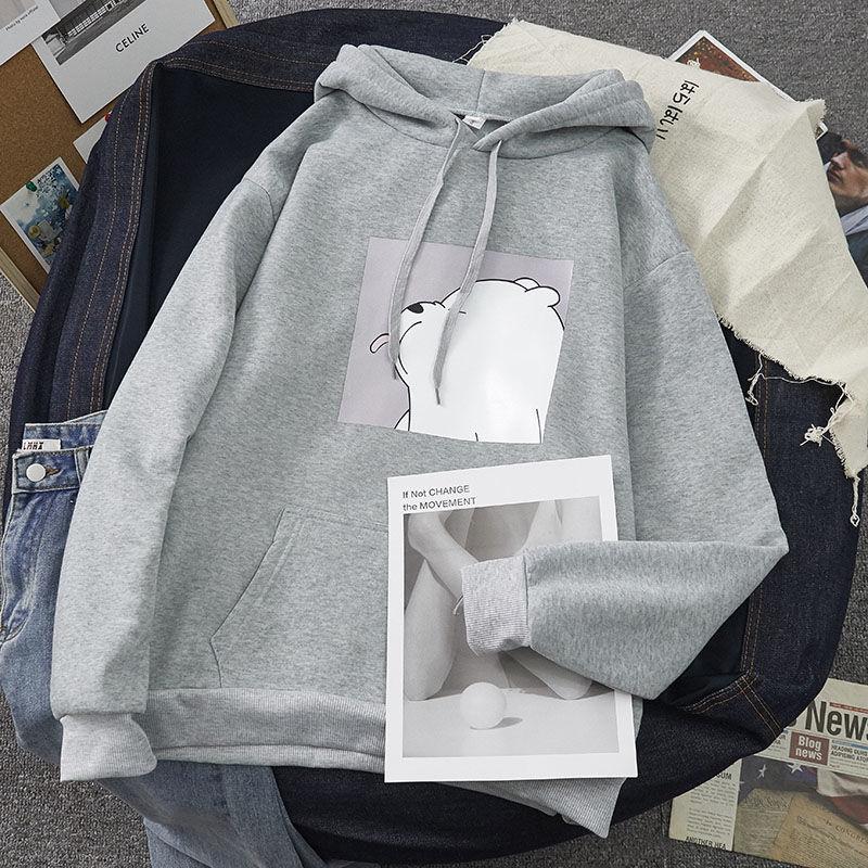 H2f4e273b094e485ea09c99b4b86849fc6 Hoodies oversized print Kangaroo Pocket Sweatshirts Hooded Harajuku Spring Casual Vintage Korean Pullovers Women sweetshirts