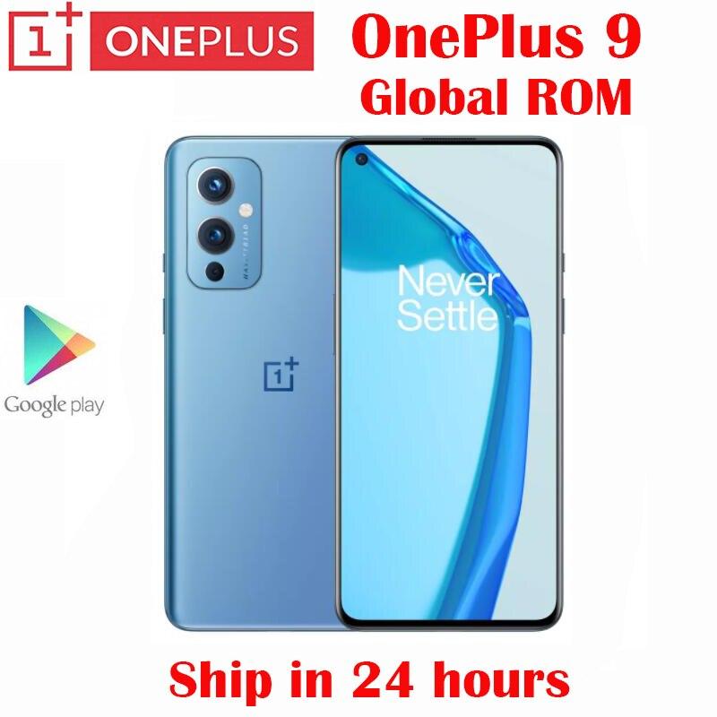 Оригинальный Новый Официальный смартфон Oneplus 9 5G, Snapdragon 888, 6,55 дюйма, AMOLED, 120 Гц, частота обновления, 50 МП, 4500 мАч, 65 Вт, флэш-зарядка