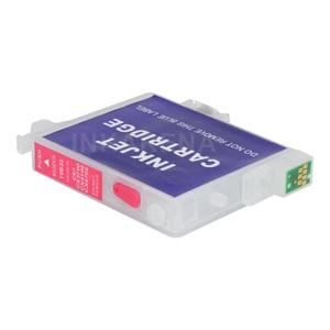 Пустые чернильные картриджи T0631 многоразового использования для струйного принтера Epson Stylus C67 C87 C87PE CX4100 CX4700 CX3700 с чипом автоматического сбро...