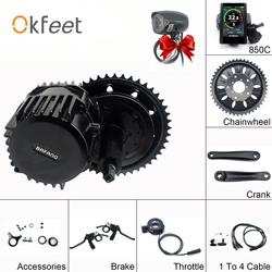 Bafang Bbshd 48V 1000W 68 Mm Mid Crank Drive Motor Kits 850C C965 SW102 Lcd Display Motorreductor kit Eletric Fiets Ebike Kits