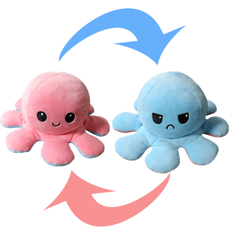 Reversible Octopus Stuffed Toy11