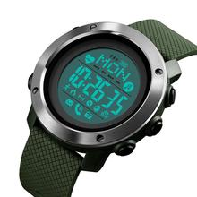 SKMEI Sport Smart Watch Men Chrono Calories Waterproof Bluetooth Magnetic Chargeing Electronic Compass reloj inteligent 1511