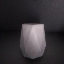 Round Shape Penholder Silicone Pot Mold for Cement DIY Office Desktop Decorating Concrete Pencil Vase Rack Molds