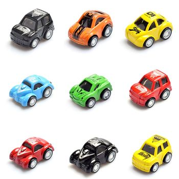 Mini Pull Back Let Go Fast Racing Car Racer Vehicles for Kids Children Gift B36E image