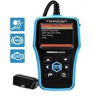 TOPDON OBDCAN ELITE Universal EOBD/OBD2 Full function ABS/SRS Code Readers OBD 2 Auto Scanner OBDII Car Check Diagnostic Tool