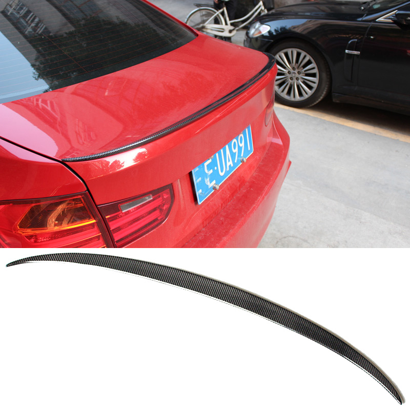 BMW 3-Series F30 F35 328i 320i üçün M3 Style karbon lifli magistral spoyler