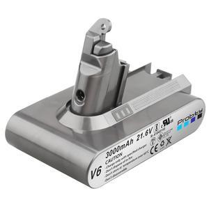 Image 4 - 1 PC 3000mAh 21.6V 3.0 Li ion Batterie pour Dyson V6 DC58 DC59 DC61 DC62 DC74 SV09 SV07 SV03 965874 02 Aspirateur Batterie et 2.