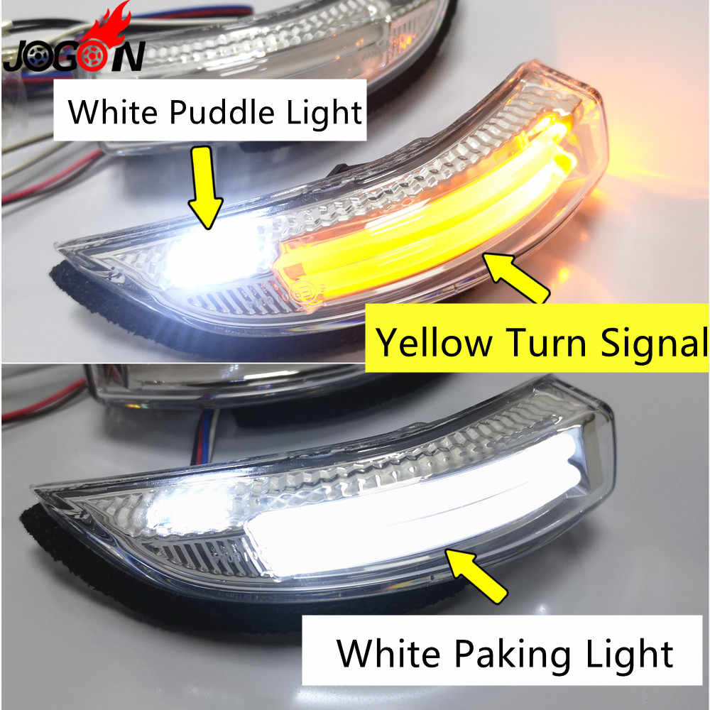Right Wing Mirror LED Indicator Turn Signal Toyota Camry Prius IQ