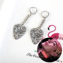 "Kpop bangtan boys Korean Star ""V RM SUGA Cross Album Stud Earrings Jewelry Accessories For Women Men Bangtan"