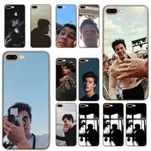 Untuk Iphone 6 6 S 11 Pro 6 6 S 7 7 Plus iPhone XR X XS Max Se 2020 shell Shawn Mendes Keras Back Hard Cover(China)