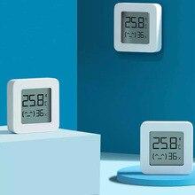 [Новейшая версия] Bluetooth-термометр XIAOMI Mijia 2, беспроводной умный электрический цифровой гигрометр-термометр, работает с приложением Mijia