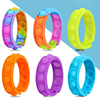Kawaii Push Bubble Dimple Bracelet Decompression Toys For Adults Fidget Toys for Children AntiStress Reliever Sensory Kids Gifts