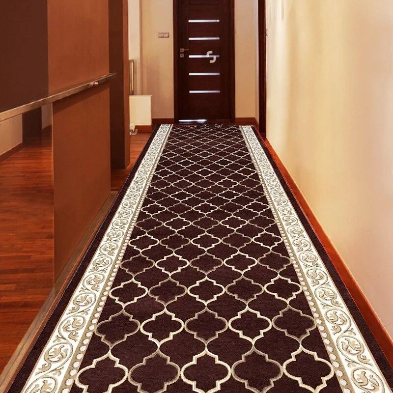 tapis long de style nordique style europeen pour couloir d hotel de mariage zone de cuisine couloir de chambre a coucher tapis geometrique