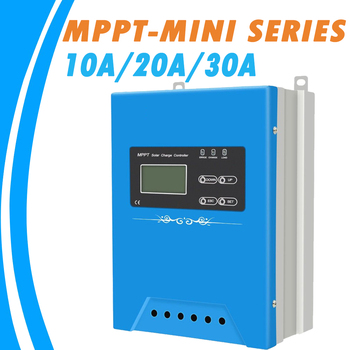 10A 20A 30A MPPT Solar Controller 12V 24V 48V Solar Charge Regulator Support Lead-acid Ternary Lithium Battery  RS485 Wifi GPRS