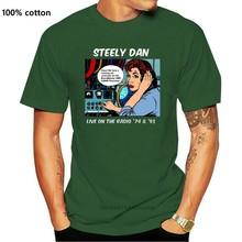 Steely Dan Live On The Radio 74 et 93 T-Shirt pour hommes taille S à 2Xl slogan personnalisé