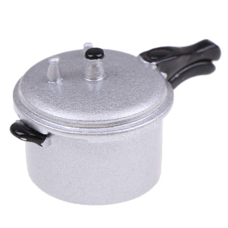 1:12 Dollhouse Miniature Kitchen Cooking Utensil Pressure Cooker AutoclaveO*ss