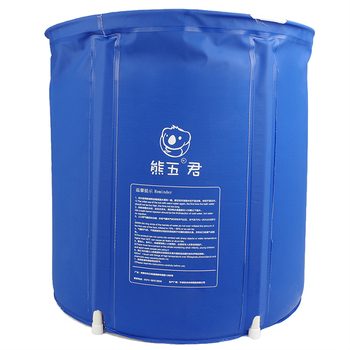 Household Bath Tub Barrel Adult Plastic Bath Tub Thick Folding Inflatable Bath Tub Barrel Large Bath