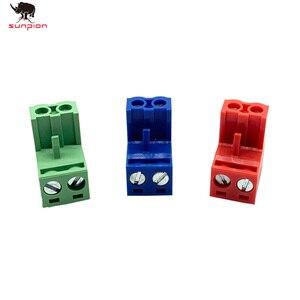 20 шт. HT5.08 2pin разъем типа 300 В 10A KF2EDGK 5,08 мм шаг PCB разъем Клеммный блок 3D принтер части