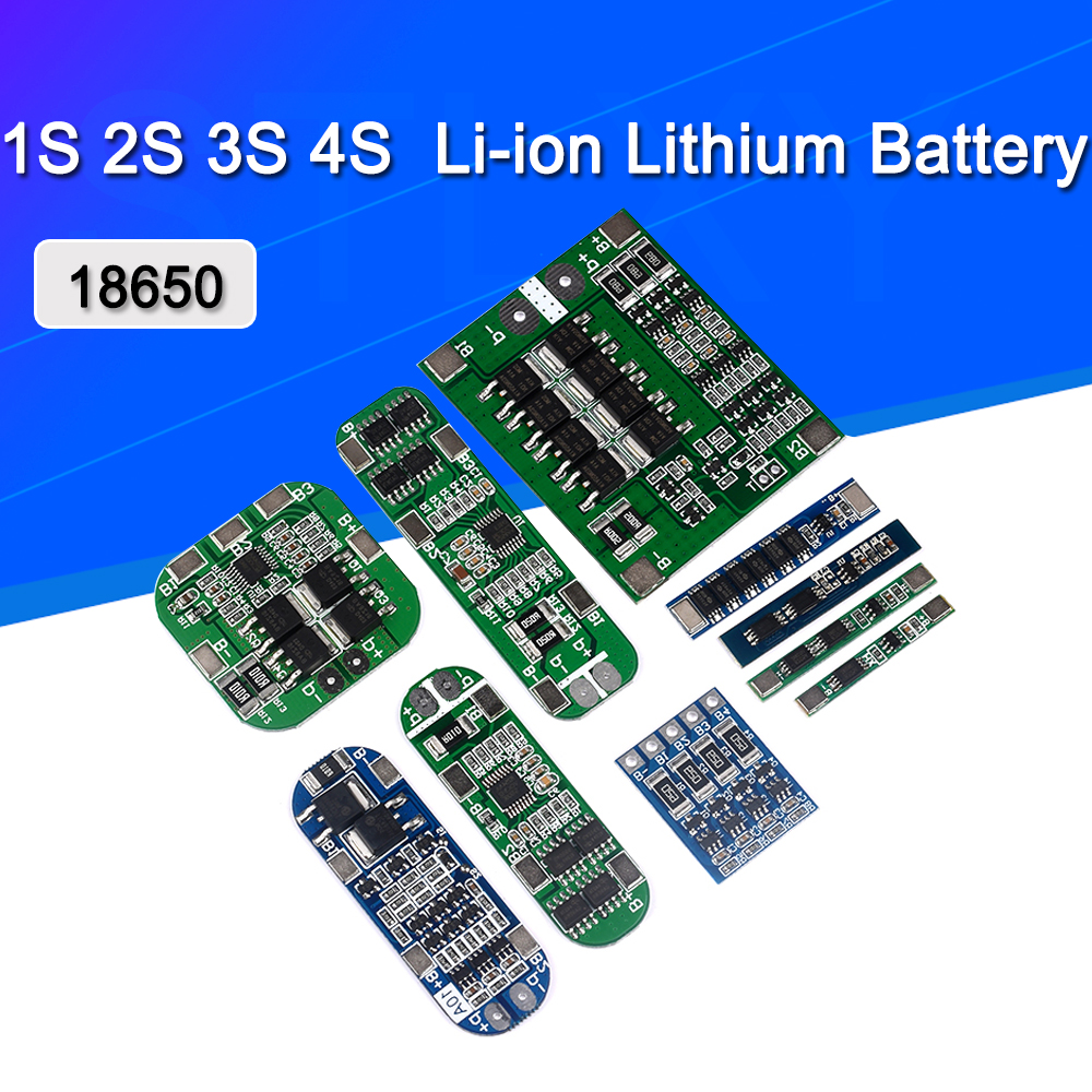 1S 2S 3S 4S 3A 20A <font><b>30A</b></font> Li-ion Lithium Battery 18650 Charger PCB BMS Protection Board For Drill Motor Lipo Cell Module <font><b>5S</b></font> 6S image