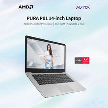 AVITA PURA P01 14 cal laptopa AMD R5-3500U/8GB DDR4/512GB SSD przenośny Laptop z 1920*1080 ekran FHD(China)