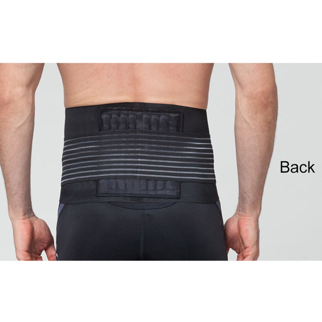 Men Women Nylon Waist Trimmer Belt Weight Loss Sweat Band Wrap Fat Tummy Stomach Sauna Sweat Belt For Gym Fitness Waist Support 4