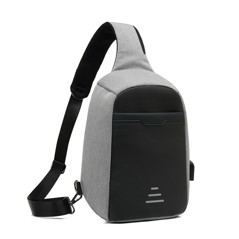 New Style Spring And Summer Korean-style High Quality Chest Pack Men's Multilayer Storage Sports Chest Pack Anti-theft Backpack