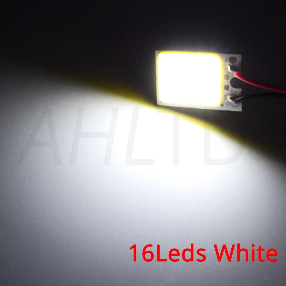 H2f521bc58b0f41c38fe413612e06087ey Car Led T10 C5W Cob 24 36 48SMD White Reading Car Led parking Bulb Auto Interior Panel Light Festoon License Plate light Bright