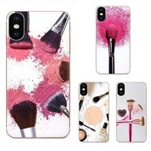Funda hermosa brocha de maquillaje para LG K50 Q6 Q7 Q8 Q60 X Power 2 3 Nexus 5 5X V10 V20 V30 V40 Q(China)