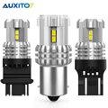 Светодиодная лампа указателя поворота AUXITO T20 W21W Canbus 7440 7443 W21/5W WY21W 12 SMD T25 3157 Led P27/7W P27W 3156 DRL