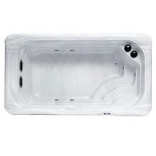 4 metr szkolenie pływackie basen Piscina basen M-3504 tanie tanio CN (pochodzenie) 2 osób Spa wanny 1-2 person 2 pcs 1*1 0 HP for filtration 1*3KW Balboa heater Ozone sterilization 1*3W multi-color bottom LED