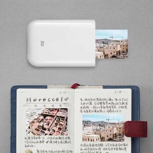 """Image 5 - Originele Xiao mi pocket Photo Printer Mi thuis 3 """"zink geen Inkt Papier Sticker Bluetooth Meerdere Link 15 Tweede AR/Voice Foto"""