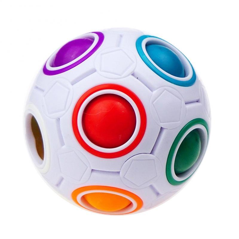 Toy Fidget-Ball Autism-Toys Rainbow-Puzzles Brain Teaser Anti-Stress Magic Creative Maze img5