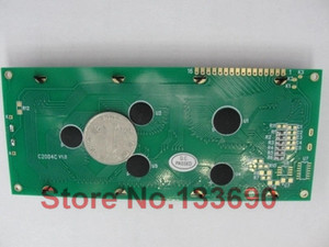 Image 3 - larger LCD 2004 20*4 20x4 largest character big size 204 blue screen character lcd display module 146*62.5mm wh2004l AC204B