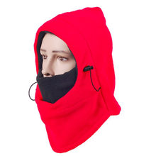 Outdoor Sport Thick Winter Riding Windproof Face Mask Cycling Neck Warm Hood Cap(China)