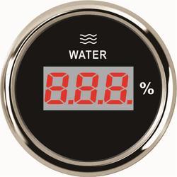 1pc 100% Brand New 52mm cyfrowe wskaźniki poziomu wody 0-100% LCD mierniki poziomu wody 9-32v z podświetleniem dla samochodów Truck Boat