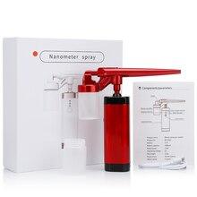 Facial Moisturizing Spray Device Air Compressor Nozzle Airbrush Kit Face Humidifier Airbrush Hydrating Nano Spray Gun