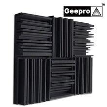 Geepro 300x300x50mm pianka akustyczna izolacja akustyczna Panel akustyczny izolacja akustyczna dla Studio pianka dźwiękochłonna izolator akustyczny