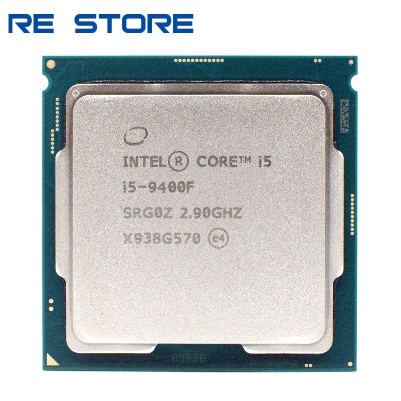 Б/у Intel Core i5 9400F 2,9 ГГц шестиядерный шесть-нить 65 Вт 9M SRF6M/SRG0Z процессора LGA 1151 разбросаны куски процессор